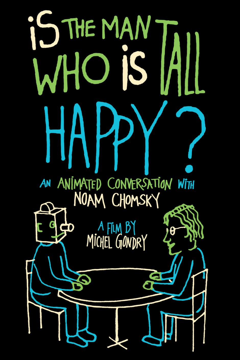 Is the Man Who Is Tall Happy? An Animated Conversation with NoamChomsky