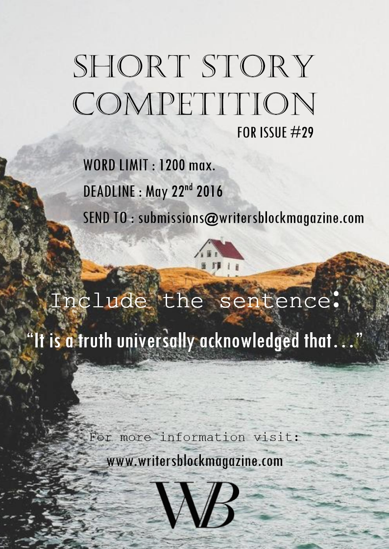 Short Story Competition – First Place: In BetweenPlaces