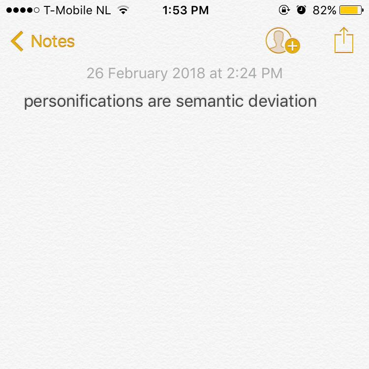 What's In My Notes?