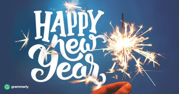 Happy New Year from Writer'sBlock!